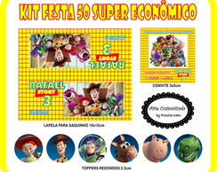 Kit Festa 50 - Super Econ�mico
