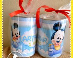 Cofre Personalizado Mickey Baby