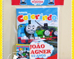 Kit Colorir Thomas e seus amigos