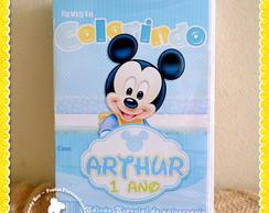 Revista Personalizada Mickey Baby
