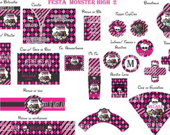 Festa Personalizada Monster high3