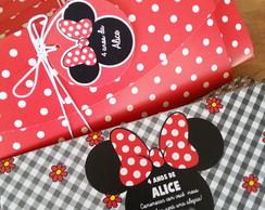 Convite Minnie (18X8cm)