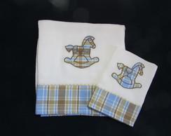Kit fralda de cobrir + fraldinha de boca