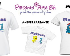 Camisa personalizada Anivers�rio