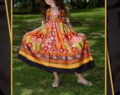Vestido Primavera-Ver�o