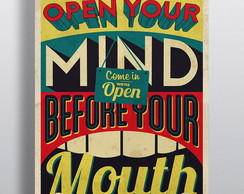 Poster Open Your Mind