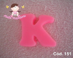 C�d. 151 Molde da letra K