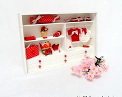Mini Closet Vermelho