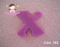C�d. 163 Molde da letra X