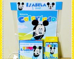 Kit Colorir + Massinha Minnie e Mickey