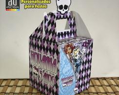 Caixinha guloseimas Monster High
