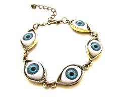 Pulseira Masculina Olhos Gregos- ov