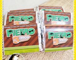 Barrinha de chocolate Dinossauros