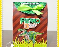 Sacolinha personalizada Dinossauros