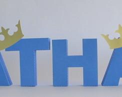 Letra 3D - Coroa