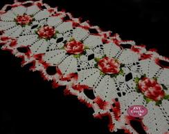 """Caminho de mesa """"Flor de Cerejeira"""""""