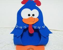 porta bombom galinha pintadinha