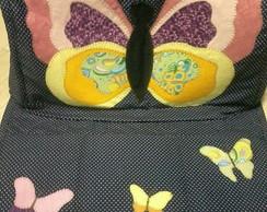 capa de m�quina costura com tapetinho