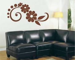 Adesivo Arabesco de Flor