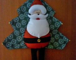 Pan� de �rvore Papai Noel
