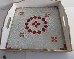 bandeja mosaico - pt entrega