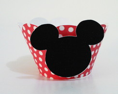Saia 3D Wrapper p/ mini CupCake Mickey