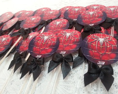 Toppers para CupCakes - Spider Man
