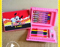 Estojo Personalizado Minnie Mouse