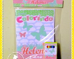 Kit Colorir Borboletas
