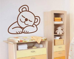 Adesivo Decorativo Urso Dorminhoco
