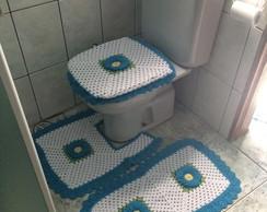 Jogo de Banheiro Flor do Campo