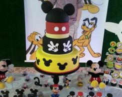 Bolo Cenogr�fico Mickey