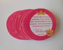 Adesivo Latinha Mint To Be Ursa Princesa