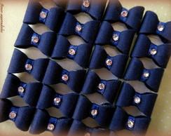 La�o para Colar Azul Marinho