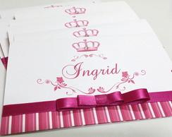 Convite 15 anos Modelo Princess