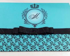Convite Azul Tiffany