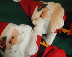 Prendedor de Cortina Papai Noel