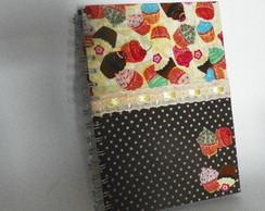 Cadernos Para Receitas em Tecido