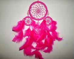 filtro dos sonhos rosa choque pink 40 cm