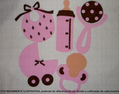 KIT PAINEL EVA CH� DE BEBE RS/MR