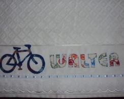 Toalha de rosto bicicleta