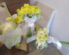 Kit Bouquet de Callas & acess�rios