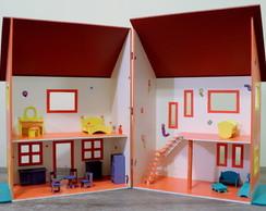 Casa Boneca c/ moveis R$345 a vista