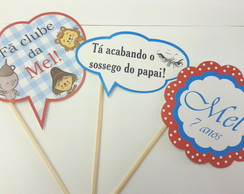 Kit 3 - Placas Divertidas Infantil