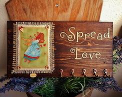 Porta-Chaves Spread Love