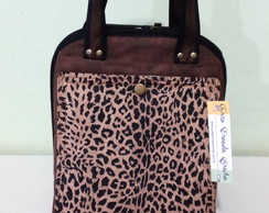 Lunch Bag Maior c/ Z�per 44-DISPON�VEL
