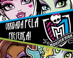 Tag grande 13x13 Monster High