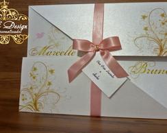 Convite Casamento - Garden