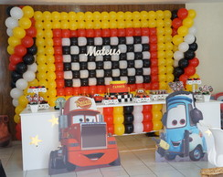 Carros Disney Decora��o Clean proven�al