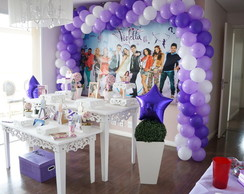 Violetta Disney Decora��o Clean